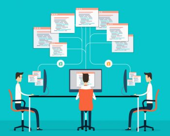 Group programing connection develop web siet and application
